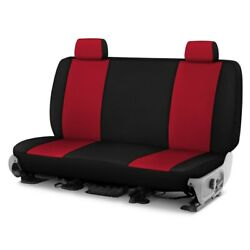 For Ford Courier 72-82 Genuine Neoprene 1st Row Red W Black Custom Seat Cover