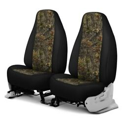 For Chevy El Camino 70-87 Camo 1st Row Woods W Black Custom Seat Covers