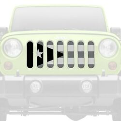 For Jeep Cherokee 84-01 Main Grille 1-pc Tactical Puerto Rico Flag Style