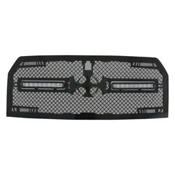 For Ford F-150 15-17 Main Grille 1-pc Rc2x Led X-treme Dual Design Custom