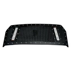 For Ford F-150 15-17 Main Grille 1-pc Rcx Explosive Dual Led Design Custom