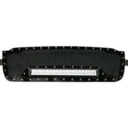 For Chevy Silverado 2500 Hd 03-04 Main Grille Rc1x Incredible Led Design Custom