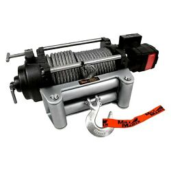Mile Marker 75-52000c 12,000 Lbs Hydraulic Winch W Integrated Solenoid