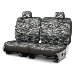 For Chevy El Camino 80-87 Camo 1st Row Digital Charcoal Custom Seat Covers