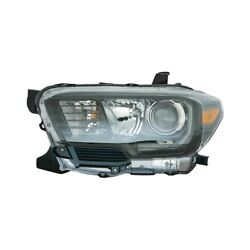 For Toyota Tacoma 17-19 Pacific Best P84724 Driver Side Replacement Headlight
