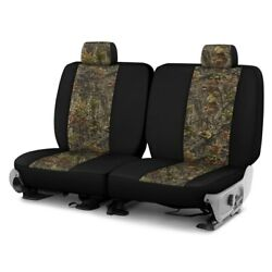 For Chevy El Camino 80-87 Camo 1st Row Woods W Black Custom Seat Covers