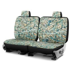 For Chevy El Camino 80-87 Cowboy Camo 1st Row Turquoise Custom Seat Covers