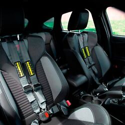 For Bmw 128i 08-13 Schroth Quickfit Pro Passenger Side Harness Set Silver