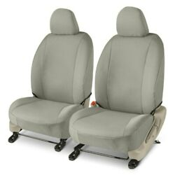 For Chevy Express 2500 10-15 Gt Covers Endura 1st Row Silver Custom Seat Covers