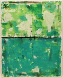 No.837 Original Abstract Minimal Modern Painting On Canvas By K.A.Davis