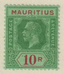 Mauritius 159d Mint Very Lightly Hinged Og No Faults Extra Fine