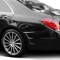 For Mercedes-benz Maybach S600 16-17 Rear Bumper Side Vents Lt Style Carbon