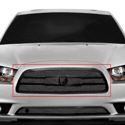 For Dodge Charger 11-14 Main Grille Lexani 1-pc Zurich Style Black Mesh Main