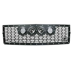 For Toyota Tacoma 16-20 Main Grille 1-pc Vx Series Cannon Gen 2 Style Black Cnc