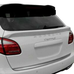 For Porsche Cayenne 11-16 D2s Asma Style Carbon Fiber Rear Lip Spoiler