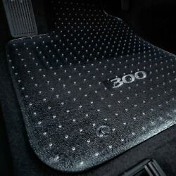 For Mercedes-benz E500 07-09 Floor Mats 1st, 2nd Row And Cargo Mat Folded Up Seats