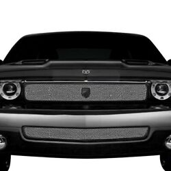 For Dodge Challenger 08-10 Grille Kit Lexani Classic Style Chrome Mesh Grille