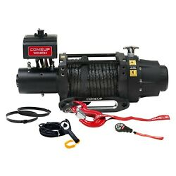 16500 Lbs Seal Gen2 16.5rs Electric Winch W Roller Fairlead And Synthetic Rope