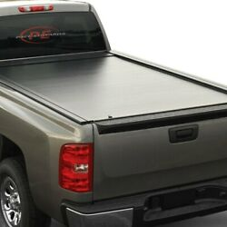 For Chevy S10 94-03 Jackrabbit Full-metal Hard Manual Retractable Tonneau Cover