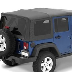 For Jeep Wrangler Jk 18 Supertop Nx Black Diamond Complete Replacement Soft Top