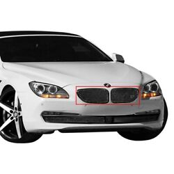 For Bmw 650i 12-15 Main Grille Lexani 1-pc Classic Style Black Mesh Main Grille
