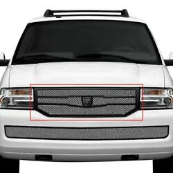 For Lincoln Navigator 08-14 Main Grille Lexani 1-pc Zurich Style Chrome Mesh