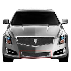 For Cadillac Ats 13-14 Bumper Grille Lexani 3-pc Barcelona Style Black Mesh