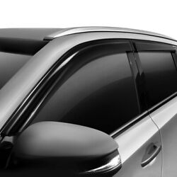 For Chevy Sonic 12-15 Jks 218025 Tape-on Smoke Front And Rear Wind Deflectors