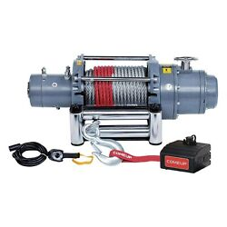 Comeup 857233 12,000 Lbs Dv Electric Winch W Wire Rope And Discrete Solenoid