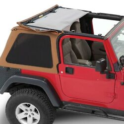 For Jeep Wrangler 1997-2006 Pavement Ends Spice Sprint Top Frameless Soft Top