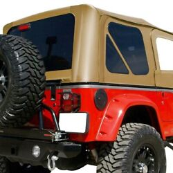 For Jeep Wrangler 1997-2006 Rampage 912917 Spice Denim Factory Soft Top