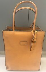 New Tumi 40th 1975 Anniversary Leather Day Tote Travel Luggage Bag 55061