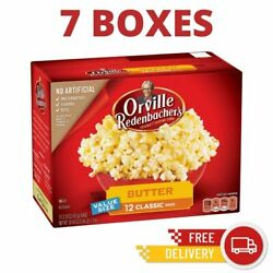7boxes - Orville Redenbachers Butter Microwave Popcorn 3.29 Oz 12 Ct