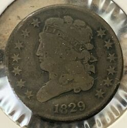 1829 Us Mint Half Cent Amazing Details Rare Collector Coin