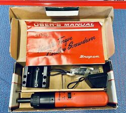 Works 1989 New In Box Snap On Et1010 Electric/cordless Screwdriver