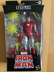 Marvel Legends Series Iron Man Silver Centurion Walgreens Exclusive Sealed New