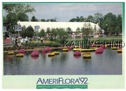 Oh Postcard W_5708 Ameriflora And03992 Internatl Horticultural Expo Columbus Oh