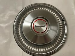 1966 Caprice Nos Hubcap Wheel Cover Hub Cap Chevy Chevrolet New Old Stock