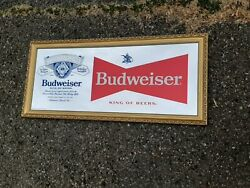 Budweiser And Bud Light Detroit Lions Mirror 2 Pack....local Pick-up Only