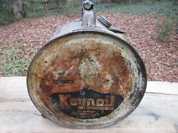 May 10, 1927 Keynoil White Eagle Rocker Oil Can 5 Gallon Icc-39c