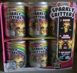 Poopsie Sparkly Critters Unicorn Drop 2 Spit Or Poop Slime Sparkle New 12 +case