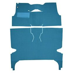 For Chevy Bel Air 56 Carpet Essex Replacement Cut And Sewn Maroon Complete Carpet