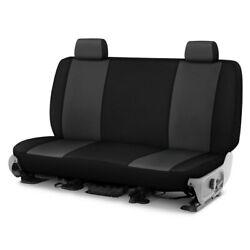 For Ford Courier 72-82 Genuine Neoprene™ 1st Row Charcoal With Black Custom Seat