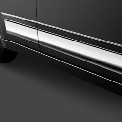 For Lincoln Town Car 2000-2011 Saa Th40691 L-type Polished Rocker Panel Covers