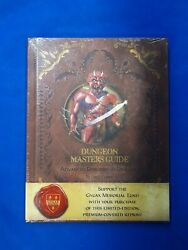 Adv Dungeons And Dragons Dungeon Masters Guide Limited Edition Premium Cover