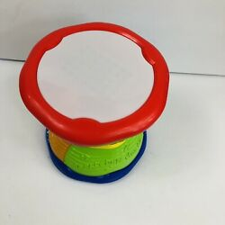 Leap Frog Bilingual Musical Drum Learn And Groove Lights Sounds Spanish And English