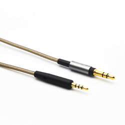 Silver Plated Audio Cable For Bose Qc35 Ii Qc35 Qc25 Oe2 Oe2i 700 Headphones