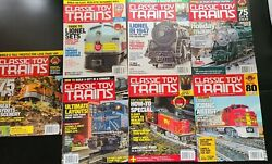 Lot Of Assorted 7 Classic Toy Trains Magazine From 2017 Model Trains