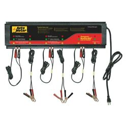 Buspro 662 12v 5 Charging Amps 6 Units Stationary Smart Battery Charger Station