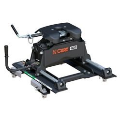 Curt 16671 Q20 Series 5th Wheel Hitch Head W Roller And Adapter